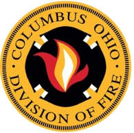 Columbus Fire Dept Badge